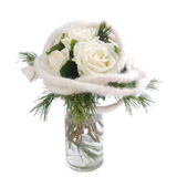 Bouquet Roses Blanches - MB Murielle Bailet ®