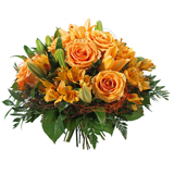 Bouquet orange - MB Murielle Bailet ®