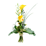 Bouquet jaune    Attention disponible en rose - MB Murielle Bailet ®
