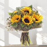 Bouquet tournesol - MB Murielle Bailet ®