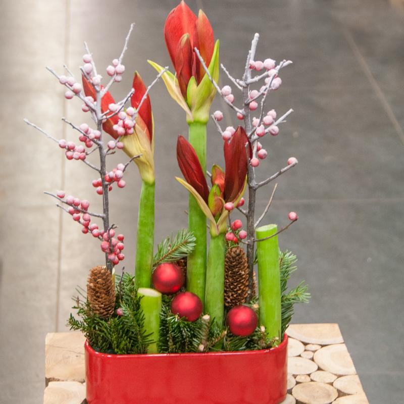 avec murielle bailet osez un no l tout en fleurs avec les compositions florales mb. Black Bedroom Furniture Sets. Home Design Ideas