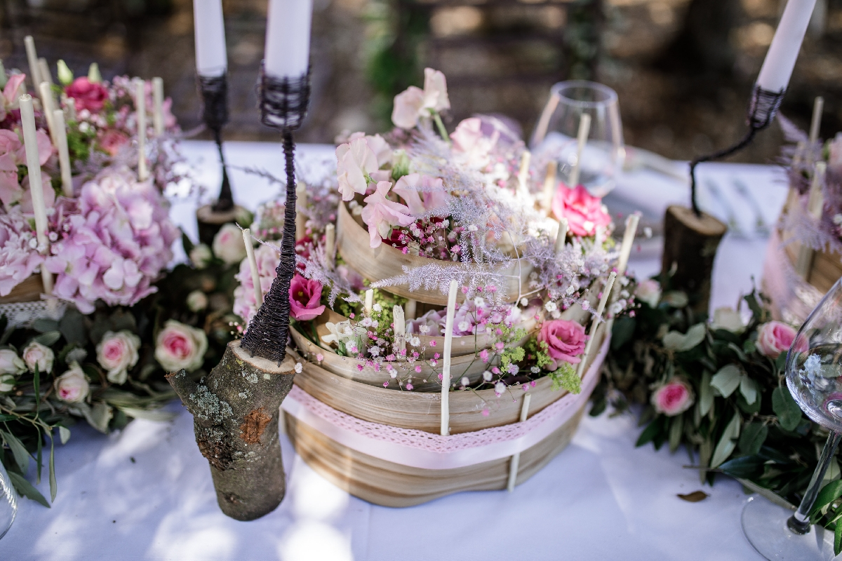 Mariage Boheme Chic Rose